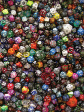 CHESSEX 1/4 POUND OF DICE D4 D6 D8 D10 D12 D20 ASSORTED D&D AD&D GAMING