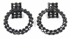 Alexis Mabille Women`s Black Mischief Clips Earrings Luxury BCF511