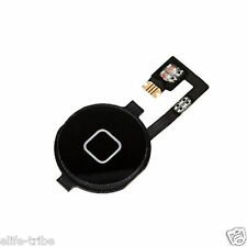 Home Button Repair Part Flex Cable Ribbon for Apple iPhone 4 4G Black