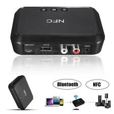 RCA 3.5mm Speaker NFC Wireless Bluetooth Stereo Audio Music Receiver Adapter AU