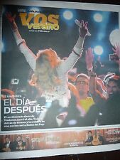 MADONNA MDNA Tour CORDOBA ARGENTINA LA VOZ Newspaper & Supplement RARE Not Promo