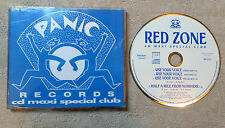 "CD AUDIO INT/ RED ZONE ""USE YOUR VOICE "" CD MAXI 861 513-2 PANIC RECORDS 1993"