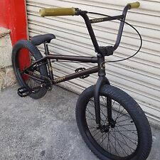 "2015 FLYBIKES BMX BIKE NEUTRON 20"" BLACK BICYCLE FIT CULT STRANGER SUNDAY"