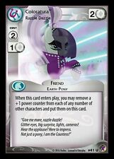 1x Coloratura, Razzle Dazzle 41 - My Little Pony Marks in Time MLP CCG