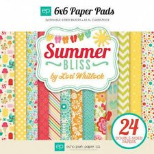 "New Echo Park 6"" x 6"" Papers Summer Bliss"