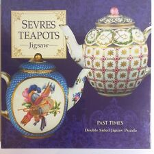 Sevres Teapot Double Sided Jigsaw Puzzle 650 Pieces Made In England New Sealed
