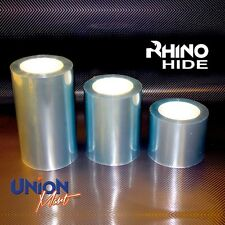 RHINO HIDE Clear Helicopter Bike Frame Protection Tape- 1mtr x 75mm 3 X LAYER