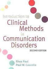 NEW - Introduction to Clinical Methods in Communication Disorders