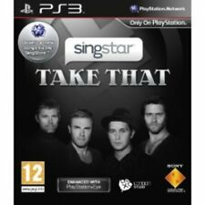 SingStar Take That Solus Game PS3 Brand New
