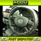 Universal Black Soft Leather Car Steering Wheel Cover