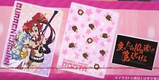 Tengen Toppa Gurren Lagann clear file folder & sticker set Yoko Nia official