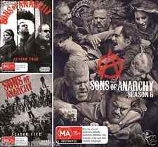 Sons Of Anarchy : Seasons 4, 5 & 6 : NEW DVD