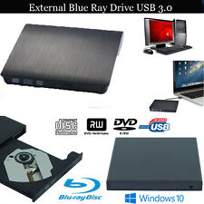 USB 3.0 DVD Grabadora Disco Duro Externo CD/DVD-RW para Apple Macbook Pro Aire