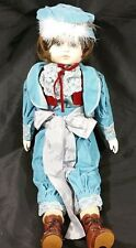 "Bisque Victorian Porcelain Child Matador Doll 22"" House Of Global Art Ta Chin"
