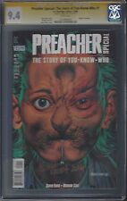 Preacher Special: The Story of You-Know-Who #1 (NM) CGC 9.4 signed GLENN FABRY