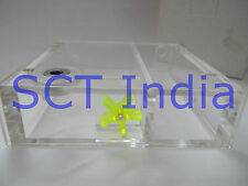 Single CD tray reservoir Acrylic Water Tank for CPU Water Cooling PC cooling