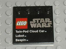 LEGO Star Wars Tile 6179 73142 / Set 9678 Twin-Pod Cloud Car