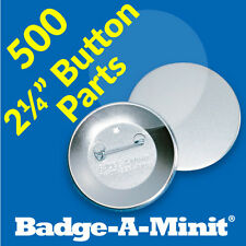 """Badge-A-Minit 500-2 1/4"""" Pin-Back Button Sets #3011 NEW"""