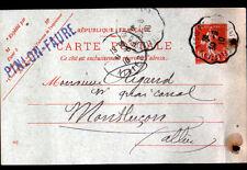"""AUBUSSON (23) MATERIAUX de CONSTRUCTION """"PINLON & FAURE"""" en 1910"""