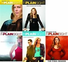 IN PLAIN SIGHT Complete SEASON 1 2 3 4 5 DVD Set Series TV Show Collection Mary