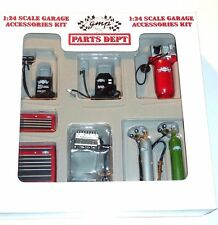GMP Die Cast Parts Dept. Garage Accessories Kit 1:24 Scale NEW Sealed Box