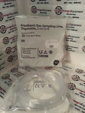 GE Anesthesia Sampling Line - 10ft - Luer Male/Male Connector (pack of 10)