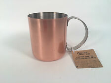 "MOSCOW MULE MUG ""CUCINA VITA"" 12 OZ. COPPER-COATED DRINKING VESSEL/CUP, NWT!"