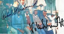 AUTOGRAPHE Richard Widmark, Holly Hunter, Volker Schlondorff SIGNED SIGNIERT
