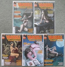 "VAMPIRELLA ""FEARY TALES"" #1-5 SUB. VARIANT  SET..NANCY A. COLLINS..DYNAMITE..NM"