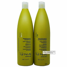 UNA Energizing Shampoo + Revitalizing Conditioner 1000 ml Duo for Damaged Hair