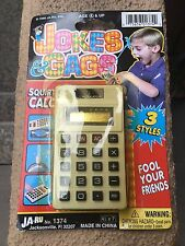 1998 Jokes and Gags Calculator JA-RU SEALED NEW pranks Vintage Collectable