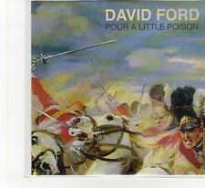 (FB414) David Ford, Pour A Little Poison - 2013 DJ CD