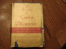 Vtg A Treasury of Golden Memories:  Poetry Library Edition 1963 HC Hawthorn Book