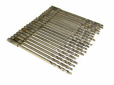 "20  Drill Bits - 3/16"" -  6"" HSS & Cobalt Piloted Step Drill Double Margin"