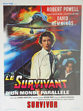 *Vintage Le Survivant Belgian Mini Film Poster - French The Survivor Belga Films