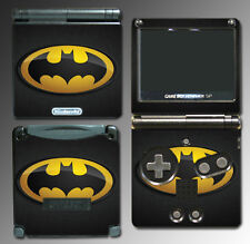 Original Retro Batman Logo Bat Man Signal Video Game Skin Cover Nintendo GBA SP