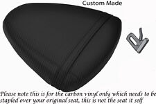 CARBON FIBRE VINYL CUSTOM FITS SUZUKI TL 1000 R 98-02 REAR SEAT COVER