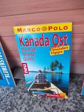 Kanada Ost, ein Marco Polo Reiseführer aus dem Jahr 2002