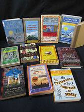 Alexander McCall Smith: HUGE Set of 12 Novels Includes Shipping! One is Signed!