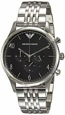 Emporio Armani Men's AR1863 Classic Chronograph Black Dial Bracelet Watch