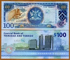 Trinidad and Tobago, 100 dollars, 2009 Pick 51, UNC   Commemorative