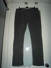 NEW, RIFLE WEAR WITH PRIDE GREY CORD JEANS, SIZE 38
