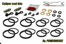 Suzuki GSX-R 600 front brake caliper seal repair kit K1 K2 K3 2001 2002 2003