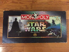 Star Wars Monopoly Classic Trilogy Edition Parker Brothers