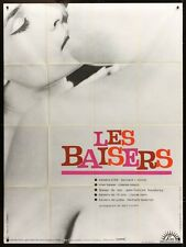 LES BAISERS The KISSES French Grande movie poster NOUVELLE VAGUE TAVERNIER BERRI