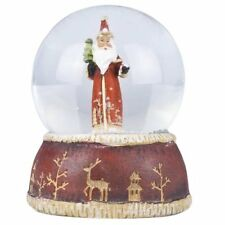 Traditional Nostalgia Santa / Father Christmas Snow Dome / Snowglobe *Xmas Gift