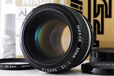[Almost Unused] Nikon Nikkor Ai-s 50mm f/1.2 MF Lens w/ Box from Japan ac28378