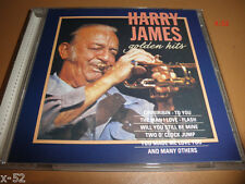 HARRY JAMES golden HITS cd MADE IN GERMANY flash FROM BOTTOM OF MY HEART