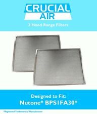 2 Broan Nutone Hood Range Filters Fit 30-Inch QS1 & WS1, Part # BPS1FA30