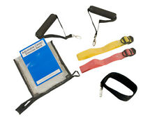 Cando 10-3233 Adjustable Exercise Band Kit - 2 Band Easy (Yellow -  Red)